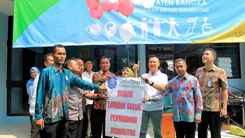 Rumah Layanan Penyandang Disabilitas di Kabupaten Bangka Diresmikan