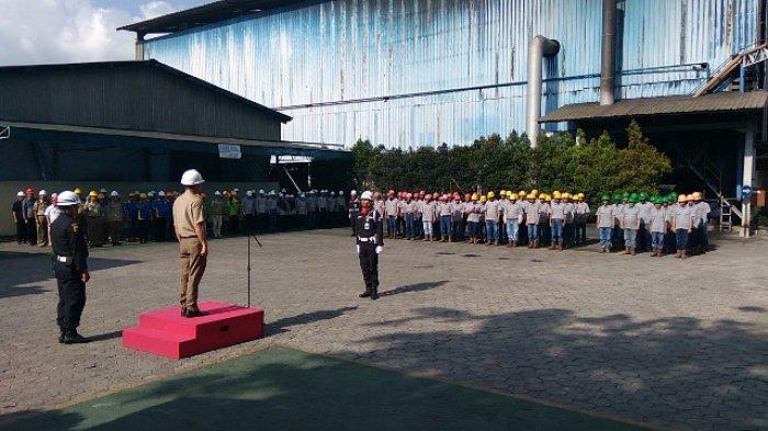 Peringati Bulan K3, PT RBT Gelar Upacara Bendera