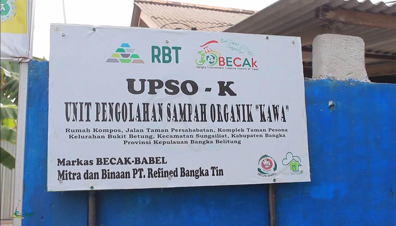 PT RBT dan Komunitas BECAK BABEL daur ulang sampah menjadi Pakan Ternak dan Pupuk Tanaman
