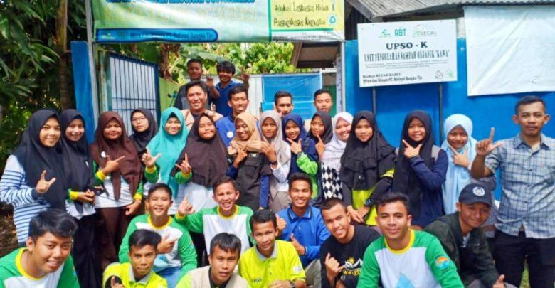 PT RBT Bersama Becak Babel Kembangkan Unit Pengolahan Sampah Rumah Tangga