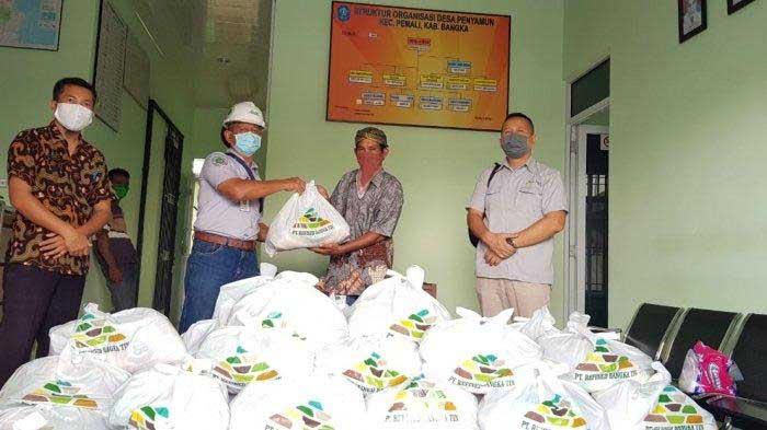 PT RBT Bantu 1.700 Paket Sembako untuk Warga