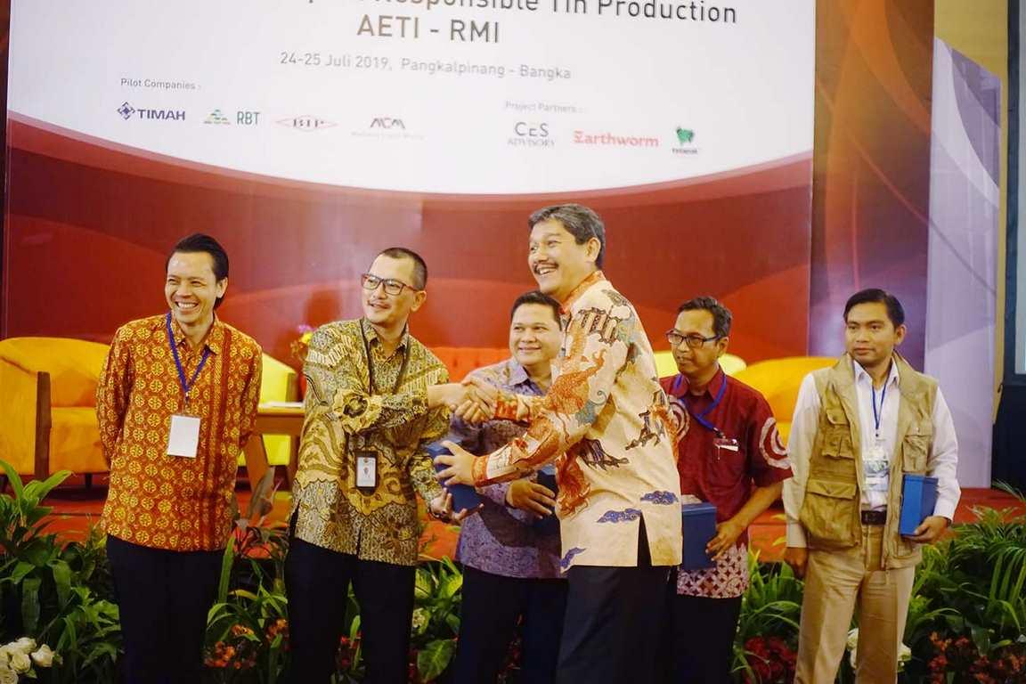 AETI dan RMI Gelar Joint Workshop On Responsible Tin Production